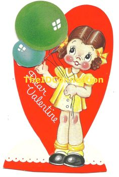 Vintage Valentine Digital Download Dear by TheIDconnection on Etsy, $15.00http://etsy.me/1l7rnBV