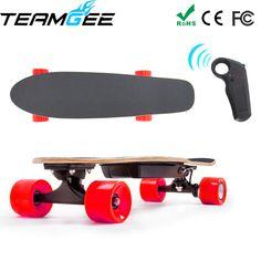 Electric Scooter Skateboard Four Wheel Skate Board Fishboard Remote Controller Dual Motor 700W PU Wheels CE FCC  Certificate //Price: $326.90//     #shopping