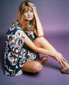 Spirit of the age: Shrimpton, pictured in the Sixties, is to have a film made about her life by BBC4