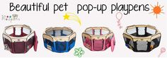 Beautiful pet pop-up playpens Baby Safety, Child Safety, Pop Up Play, Baby Playpen, Baby Animals, Pet Products, Pets, Surgery, Plastic