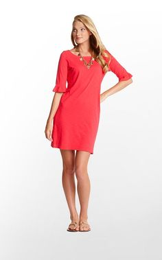 Color Me Coral: Coral Lily Pulitzer Somerset Dress