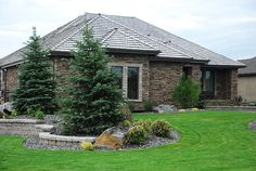 front lawn landscaping picture gallery | Front yard landscaping by Brigid