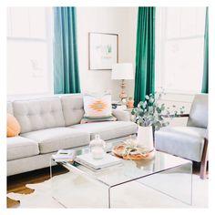 Living room - donnally @donnallydavis on Instagram