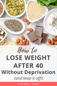 How To Lose Weight After 40 (Without Deprivation - Healthy Living Group Board - Nutrition Weight Loss Meals, Diet Meal Plans To Lose Weight, How To Lose Weight Fast, Loose Weight, Losing Weight After 40, Body Weight, Weight Loss For Women, Best Weight Loss, Healthy Weight Loss