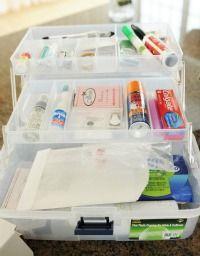 Wedding emergency kit!