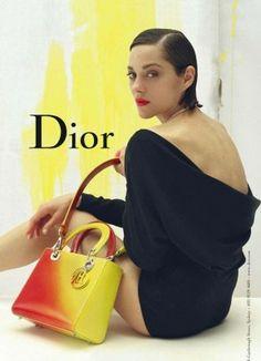 Marion Cotillard égérie de la collection maroquinerie 2014 de Dior