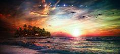 Lonely island by RenatoSs.deviantart.com on @DeviantArt