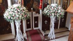 Λαμπάδες γάμου με λευκό & ροζ απαλό λυσίανθο ,φούξια τριαντάφυλλα σε βάσεις από θαλασσόξυλα..Δεξίωση | Στολισμός Γάμου | Στολισμός Εκκλησίας | Διακόσμηση Βάπτισης | Στολισμός Βάπτισης | Γάμος σε Νησί & Παραλία...