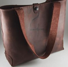 Leather Handbag / Tote Gorgeous Burgundy Pull Up by NomadUnlimited, $150.00    OMG LOVE THIS!!!