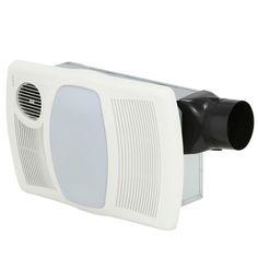 Utilitech 1 1 2 Sones 80 Cfm White Bathroom Fan With