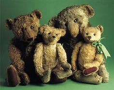 vintage teddy bears artdollsonly.blogspot.com