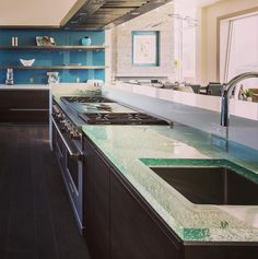 This private residence in Pismo Beach California features our ThickGlass countertop in our Natural texture. #jockimo #glass #thickglass #thickglasscounter #countertops #homedecor #homedesign #kitchen #kitchendesign #liveauthentic #instadecor #instadesign #interiordesign #interior #homestyling #sodomino #instahome #hospitalitydesign #architecturaldesign #pismobeach