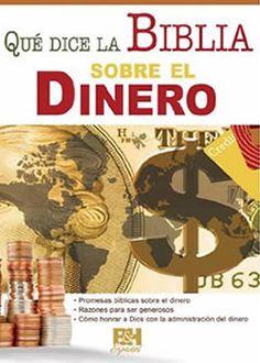 Qué Dice la Biblia sobre el Dinero, tipo folleto plegable