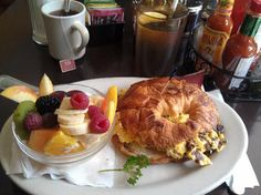Hollywood Cafe in San Francisco.  The breakfast looks amazing!