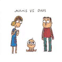 Moms vs Dads http://ift.tt/2eF3SCy