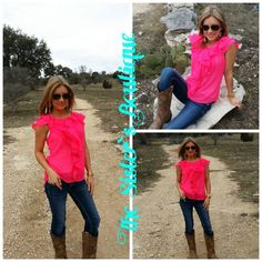 Pink chic chiffon blouse · The Sister's Boutique · Online Store Powered by Storenvy