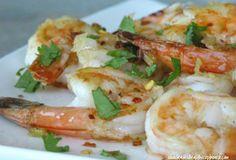 Spicy Sauteed Shrimp - Paleo Recipe