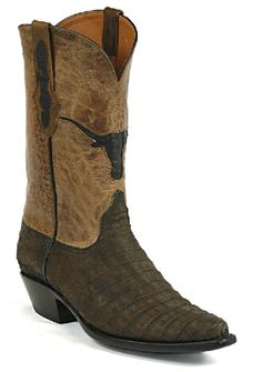 Vintage Lucchese Classics Anteater Skin Exotic Cowboy