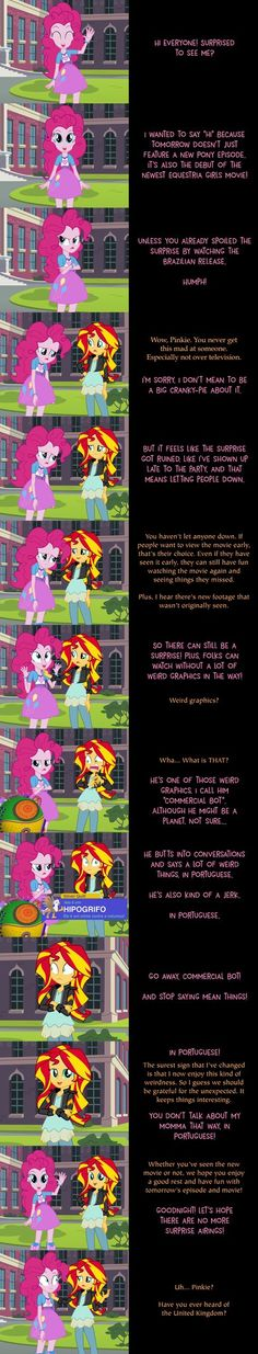 Funny how we never got an Equestria Girls goodnight back in the day. I'm going to chalk it up to a very simple answer: people often like ponies more. I'm being totally honest when I say that I watc...
