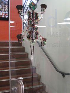 Robot Stanford StickyBot Gecko
