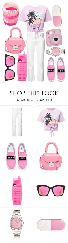 """""""☾ follow your heart but take your brain with you ☽"""" by dream-free-123 ❤ liked on Polyvore featuring Nili Lotan, Miss Selfridge, Joshua's, SALAR, Moschino, Fujifilm and ban.do"""