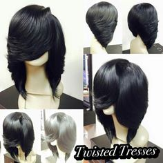 Shop Rabake Non-Processed Brazilian Lace Front Wig Natural Wave Bob Cuticle Aligned Remy Human Hair Bob Wavy Wigs Dope Hairstyles, African Hairstyles, Weave Hairstyles, Black Hairstyles, Black Curly Hair, Braids For Black Hair, Male Haircuts Curly, Natural Hair Styles, Short Hair Styles