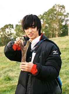 """Kento Yamazaki, BTS, filming J LA movie """"orange"""", Release: 12/12/'15"""
