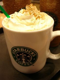 mariahcatlivinghealthy:    runningwhere:    blackcatsandwitcheshats:    welcome back Pumpkin Spice Latte ♥    Only because it's such a fall day and I might get one later :)    This looks so good. Oh my goddd