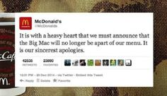Tons Of People Fell For A Hoax That McDonald's Was Getting Rid Of The Big Mac