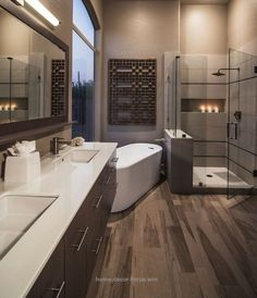 Beautiful Extraordinary Transitional Bathroom – 10 Stunning Transitional Bathroom Design Ideas to Inspire You ➤To see more Luxury Bathroom ideas visit us at www.luxurybathroo… #luxurybathrooms #ho ..