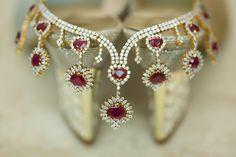 #weddingjewellery #indianweddingphotographers #weddingphotography #diamonds #ruby #ravneetpuriphotography