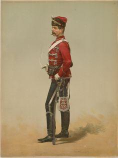 Rillmeister. Brandenburgisches Husaren Regt. no. 3, Legras, Auguste, 1817-1887 (artist), 1875