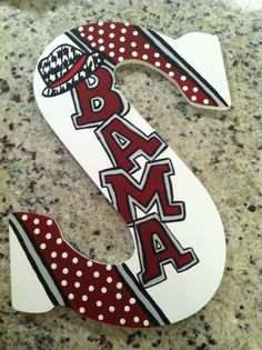 Custom Hand Painted Door Hanger/ Wall Art https://www.facebook.com/DamArtDesigns