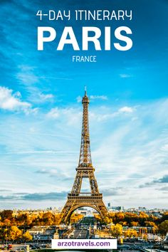 Find a fun itinerary for Paris as a first-time visitor. Where to go and what to do in Paris, France. From free activities to fun tours, there is something for everyone. travel tips Europe Destinations, Europe Travel Tips, European Travel, Travel Advice, Travel Guides, Travel Plan, Travel Hacks, Travel Trip, Paris Travel