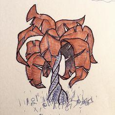 #tree #palm #palmtrees #sketch #sketching #draw #drawing #art #artist #illustration #illustrator #ink #pen #ballpoint #ballpointpen #marker #tropical