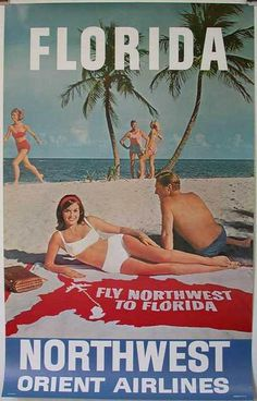 http://postermuseum.com/11111/1air/Northwest.Airlines.Florida.25x40.5.$250.JPG