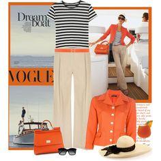 Orange blazer idea. An orange blazer to wear to UTEP events?