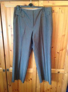 Damenmode M&s Stone Smart Linen Mix Pants Trousers Size 20 Medium Bnwt Sameday Free P&p Kleidung & Accessoires