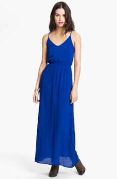 Dee Elle Camisole Maxi Dress (Juniors) | Nordstrom