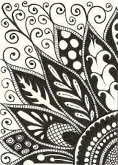 34 best zentangle flowers images in 2016 | Zentangle drawings