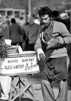 Street vendor, İstanbul, 1970′s by Unknown Photographer