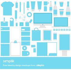 Free Branding/Identity Mockup Templates (PSD)