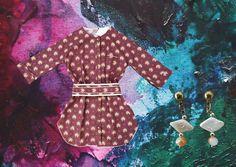chemise bordeaux tanuki y aros perlas tanuki