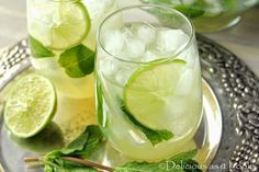 Delicious as it Looks: Trying to Think Spring with Mojitos