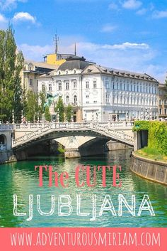 A guide to Ljubljana, Slovenia. This charming little capital has lots to offer, including a castle, amazing wine and dragons! #ljubljana #slovenia #travel