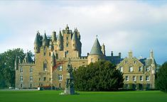 Located near the village of Glamis, in Angus, Glamis castle is one of the finest castles in Europe and appears on the back of ten pound notes issued by the Royal Bank of Scotland.