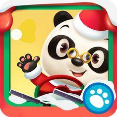 Conduce con el Dr. Panda hasta llegar al destino navideño