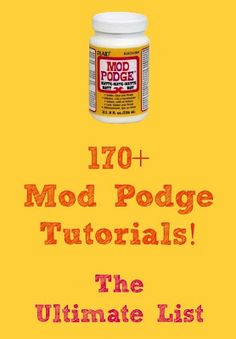 Craft Tutorials ~ Mod Podge Rocks!