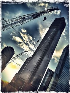 Rocketing up in the sky- 1WTC