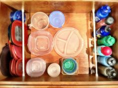 The Friday Fluff Up: Use Tension Rods To Organize Drawers (Who Knew?) - Passionate Penny Pincher